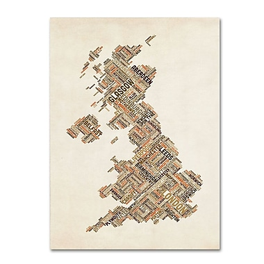 Trademark Fine Art 'United Kingdom II' 22