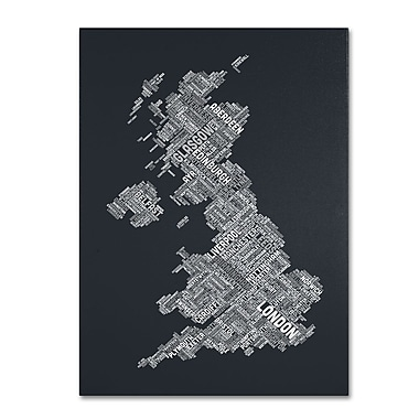 Trademark Fine Art 'United Kingdom V' 22