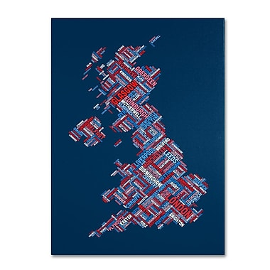Trademark Fine Art 'United Kingdom VI' 22