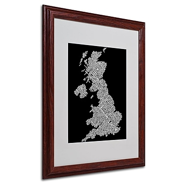 Trademark Fine Art 'United Kingdom VIII' 16