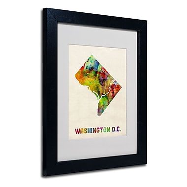 Trademark Fine Art 'Washington D.C. Map' 11