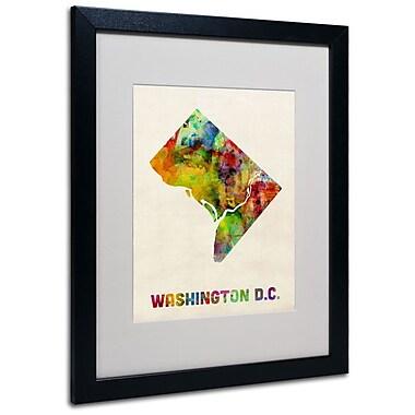 Trademark Fine Art 'Washington D.C. Map' 16