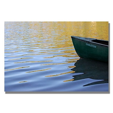 Trademark Fine Art 'The Adirondack Lake'