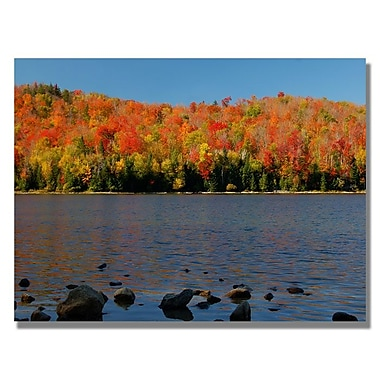 Trademark Fine Art 'The Adirondack Heart Lake' 30