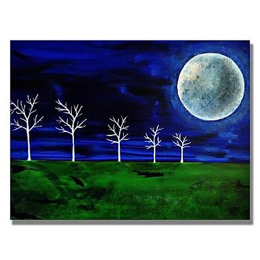 Trademark Fine Art 'Blue Moon' 18