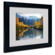 Trademark Fine Art 'Autumn River'