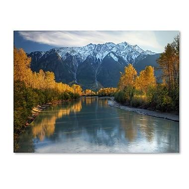 Trademark Fine Art 'Autumn River' 14