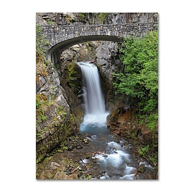 Trademark Fine Art 'Christine Falls Rainier' 16