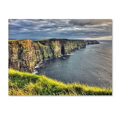 Trademark Fine Art 'Cliffs of Moher Ireland' 22