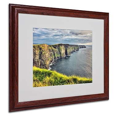 Trademark Fine Art 'Cliffs of Moher Ireland' 16