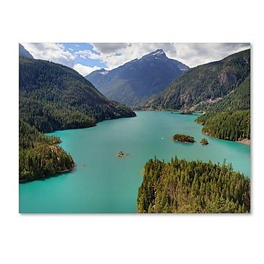 Trademark Fine Art 'Diablo Lake' 14