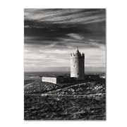 "Trademark Fine Art 'Doonagore Castle Ireland' 22"" x 32"" Canvas Art"
