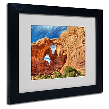Trademark Fine Art 'Double Arch'
