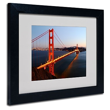 Trademark Fine Art 'Golden Gate SF'
