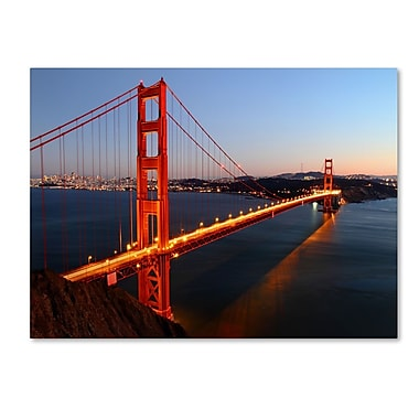 Trademark Fine Art 'Golden Gate SF' 22