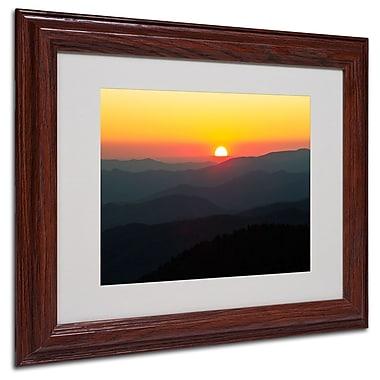 Trademark Fine Art 'Great Smoky Mountains Sunset' 11