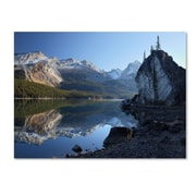 "Trademark Fine Art 'Jasper Maligne Lake' 16"" x 24"" Canvas Art"