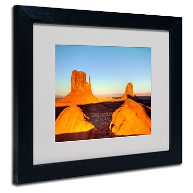 Trademark Fine Art 'Monument Valley Sunset'