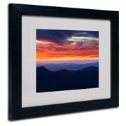 Trademark Fine Art 'Mount Mitchell Sunset'
