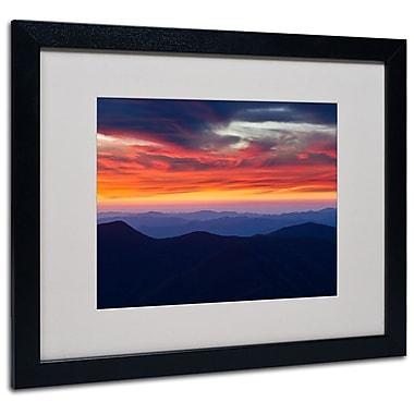 Trademark Fine Art 'Mount Mitchell Sunset' 16