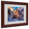 Trademark Fine Art 'Natural Bridge' 11in. x 14in. Wood Frame Art