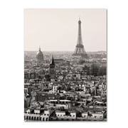"Trademark Fine Art 'Paris' 30"" x 47"" Canvas Art"