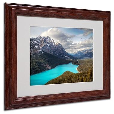 Trademark Fine Art 'Peyto Lake' 11