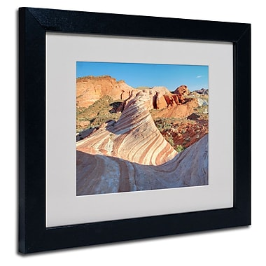Trademark Fine Art 'Valley of Fire Wave'