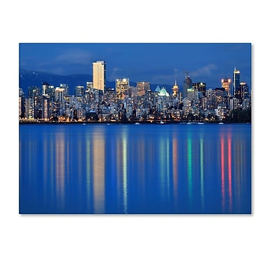 Trademark Fine Art 'Vancouver City' 14