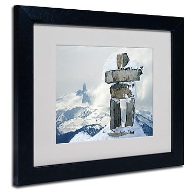 Trademark Fine Art 'Whistler Inukshuk'