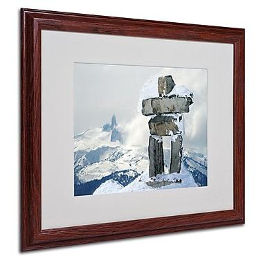 Trademark Fine Art 'Whistler Inukshuk' 16