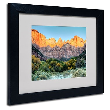 Trademark Fine Art 'Zion Sunrise'