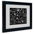 Trademark Fine Art 'Black & White Buttons'