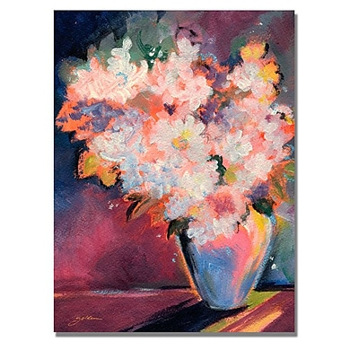 Trademark Fine Art 'Bouquet with White Blooms' 35