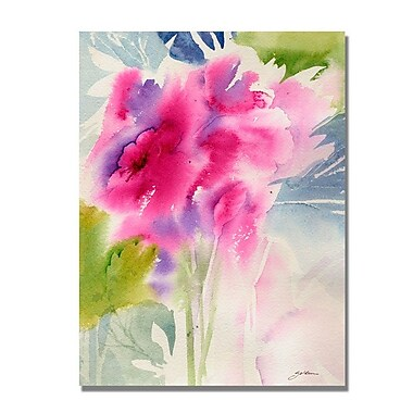 Trademark Fine Art 'Cerise Garden' 18