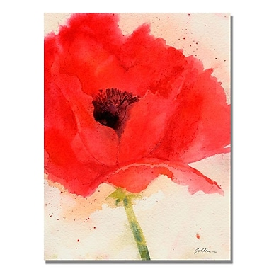 Trademark Fine Art 'Green Poppy' 35