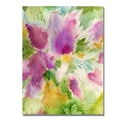 Trademark Fine Art 'Lilacs' 18in. x 24in. Canvas Art