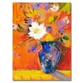 Trademark Fine Art 'Orange Wall II' 18in. x 24in. Canvas Art