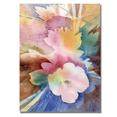 Trademark Fine Art 'White Floral Symphony'