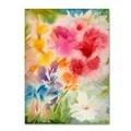 Trademark Fine Art 'Bright Garden' 18in. x 24in. Canvas Art