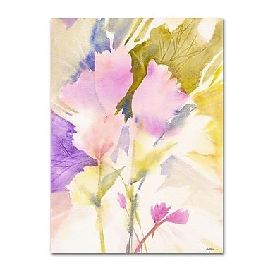 Trademark Fine Art 'Lavender Shadows' 24