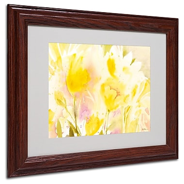 Trademark Fine Art 'Yellow Gardens' 11