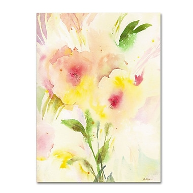Trademark Fine Art 'Two Garden Flowers' 14