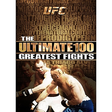 UFC: The Ultimate 100 Greatest Fights (DVD)