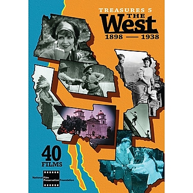 Treasures 5: The West, 1898-1938 (DVD)