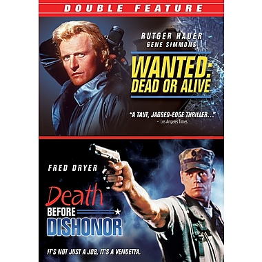 Death Before Dishonor/ Wanted Dead or Alive (DVD)