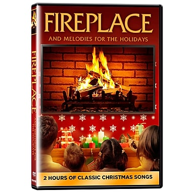 Fireplace and Melodies for the Holidays (DVD)