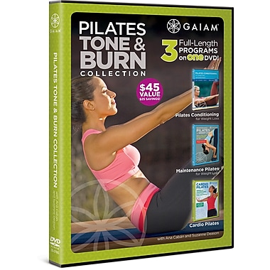 Gaiam: Pilates Tone & Burn Collection with Ana Caban and Suzanne Deason (DVD)