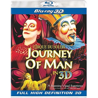 Cirque du Soleil: Journey of Man (3D Blu-Ray)