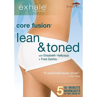 Exhale - Core Fusion - Lean & Toned (Acacia) (DVD)